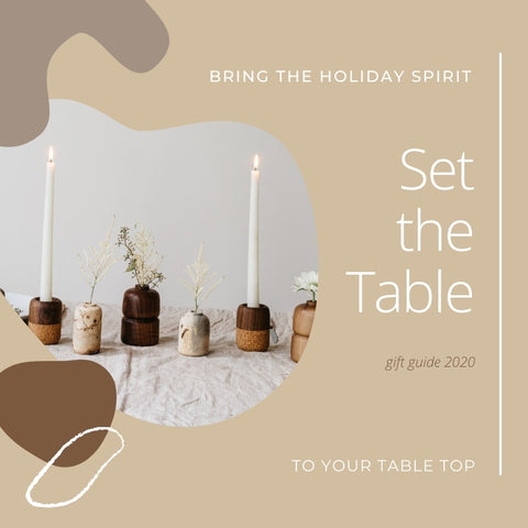 Gift Guide: Set the Table