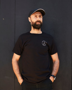 Mel's Carving Club T-shirt - Black Crew Neck