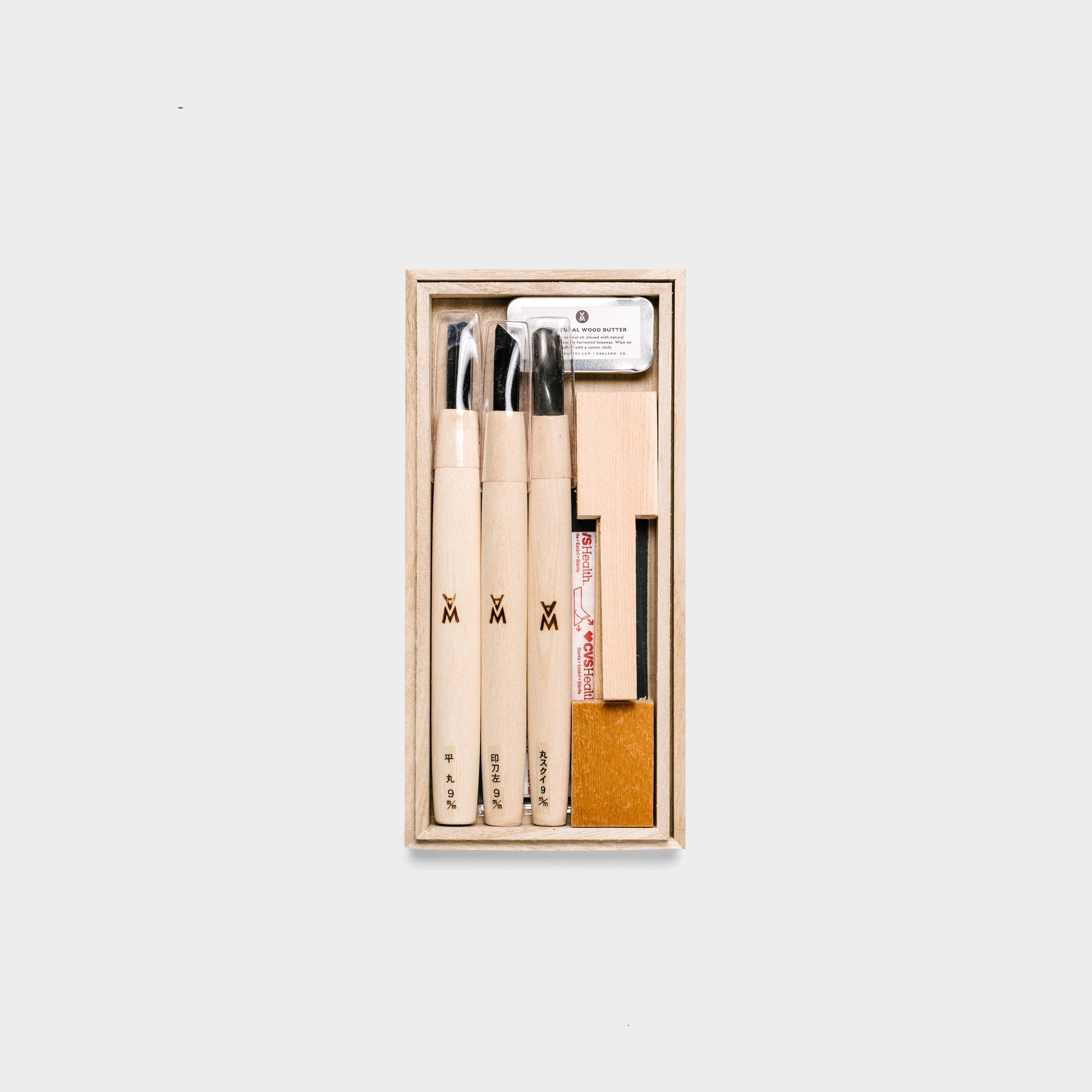 Japanese Beginner Spoon Carving Kit