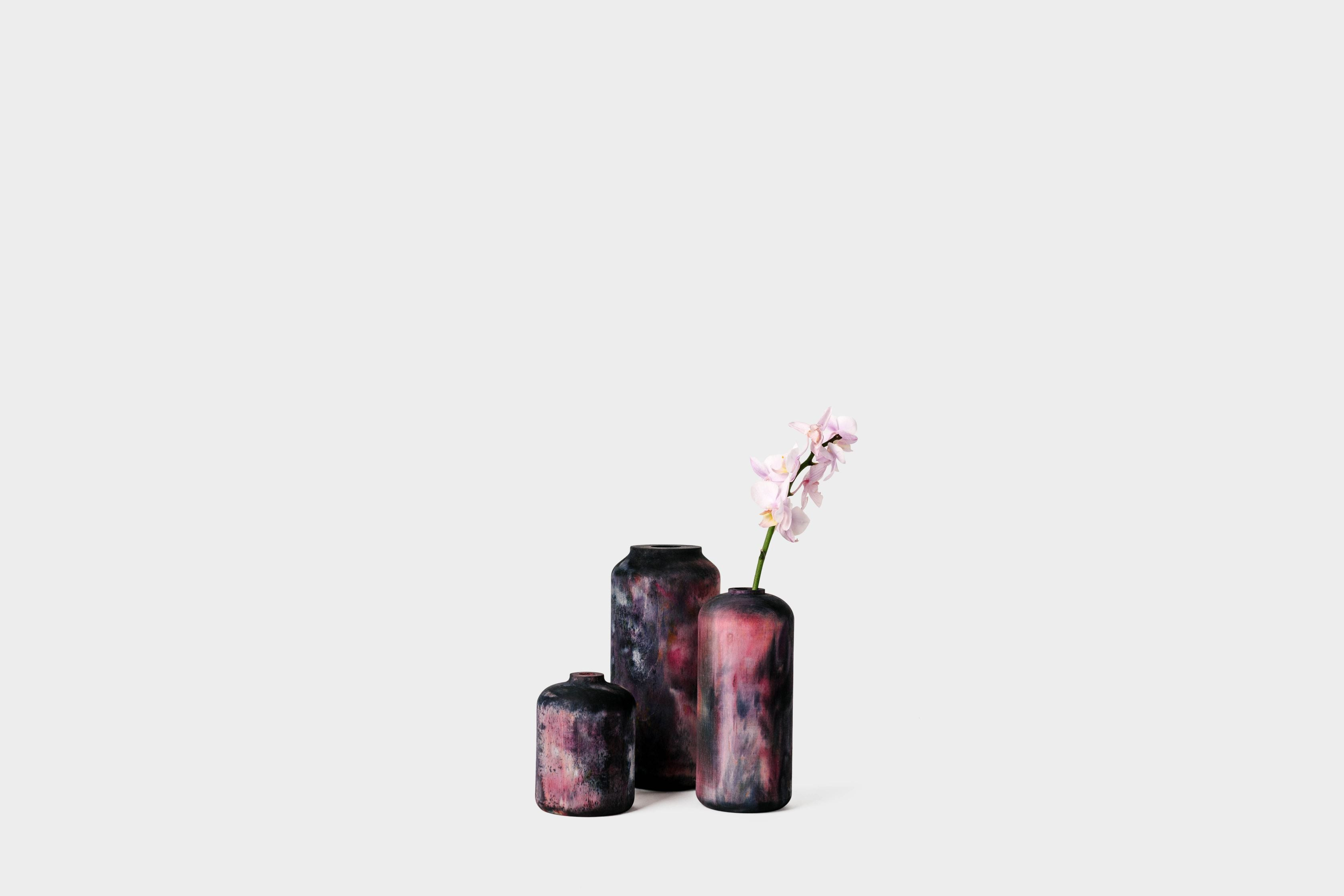 Limited Edition Hand-Dyed Vases