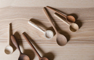 KITCHEN SET | COFFEE SPOON, REGULAR SPOON AND COOKING SPOON