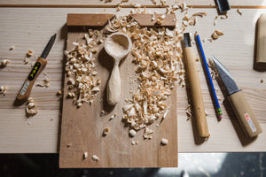 Zoom Spoon Carving Workshop 9/26