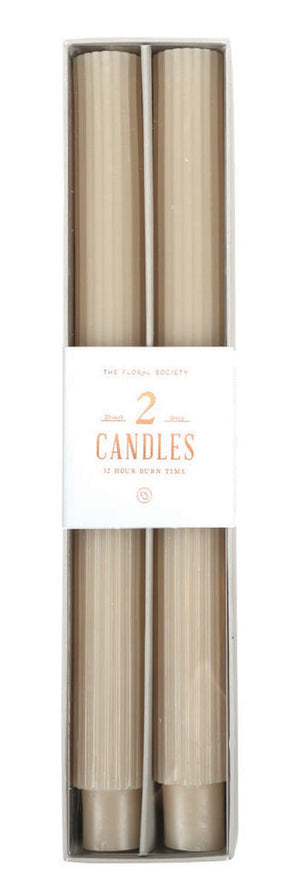 Fancy Candle Tapers by The Floral Society