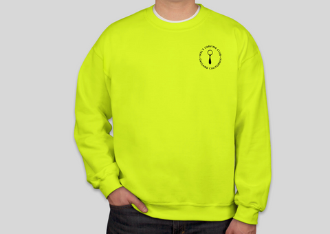 Mel's Carving Club Sweatshirt - Neon Crew Neck