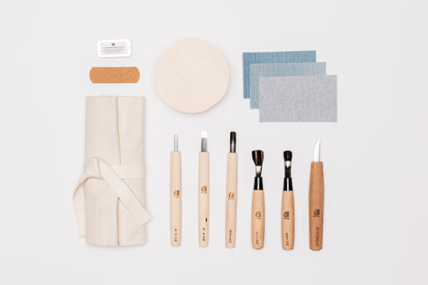 Japanese Bowl Carving Kit