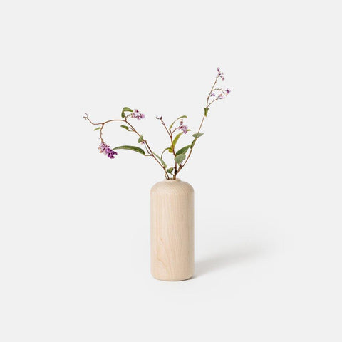 Tall Maple Bud Vase