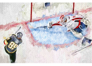 *20x30* Braden Holtby * Gallery-wrapped Canvas * Washington Capitals - majorleaguecreative.com