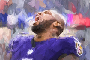 *20x30* Terrell Suggs: The Call * Gallery-wrapped Canvas - majorleaguecreative.com