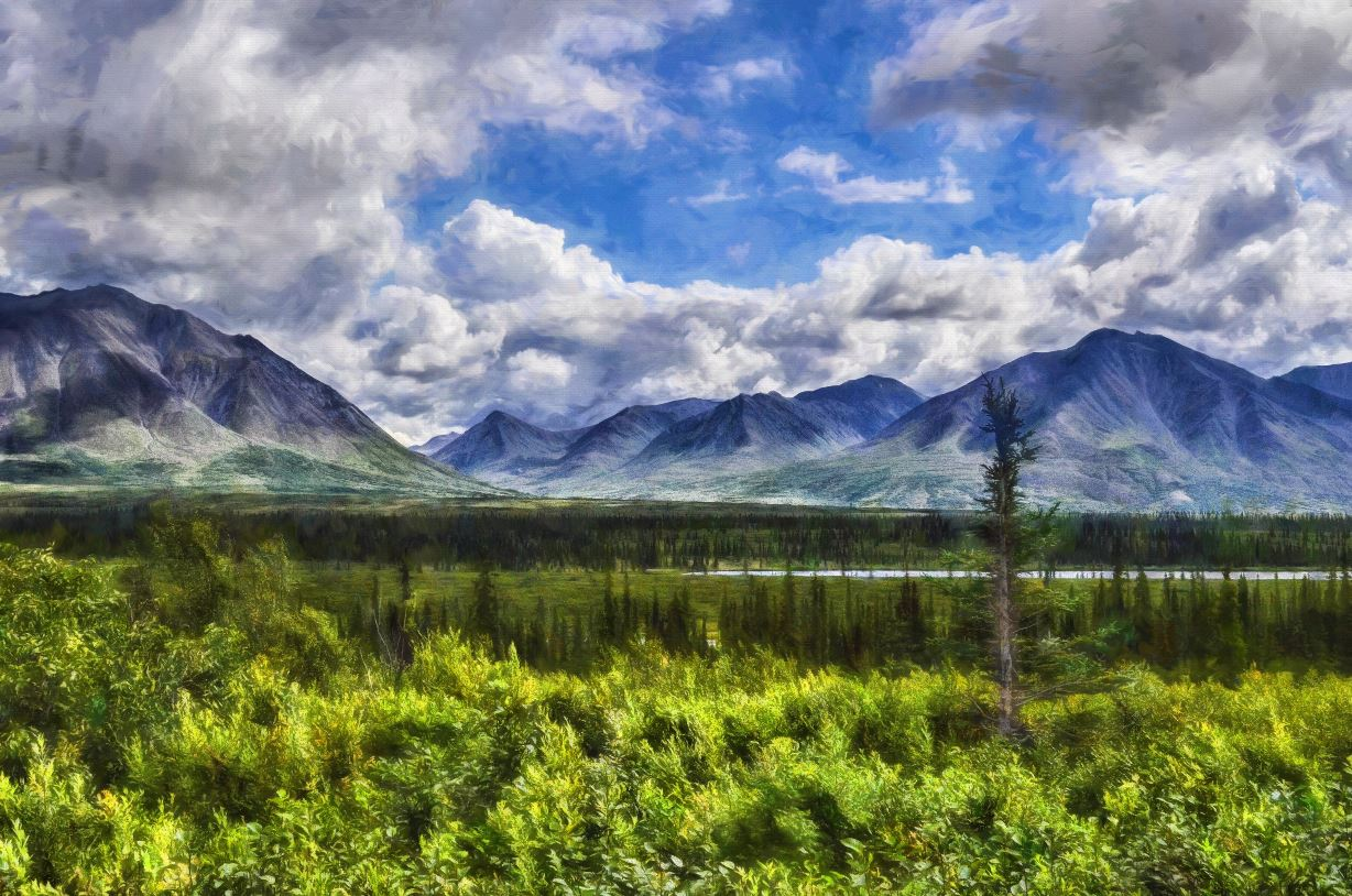 Alaskan Mountains - majorleaguecreative.com