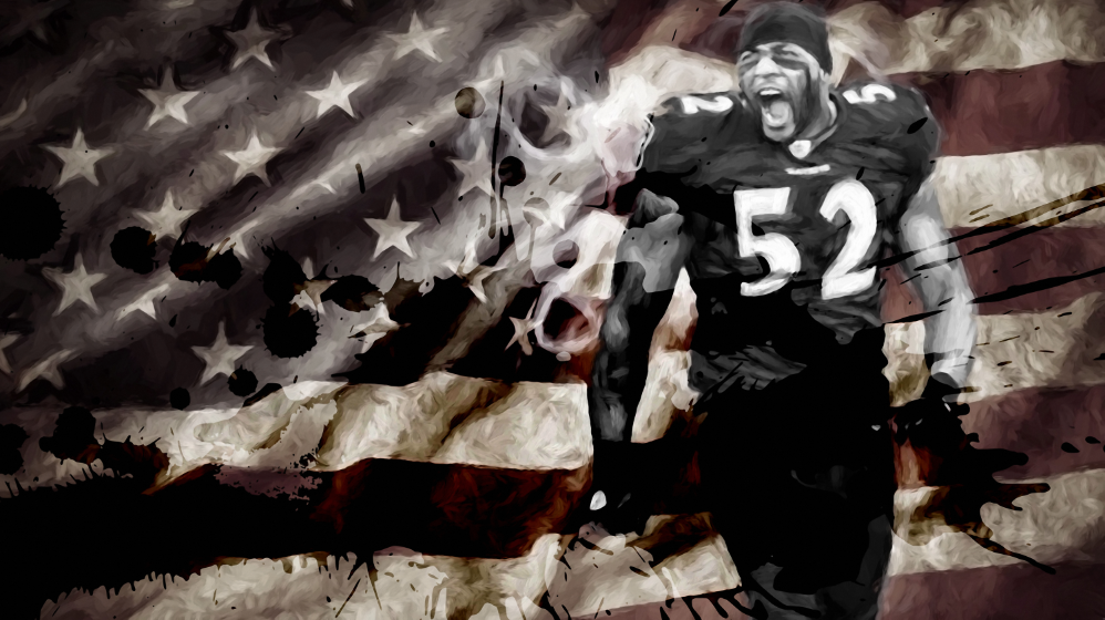 *30x40* Ray Lewis: The Gladiator