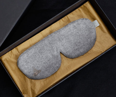 LUXURY EYE MASK - 100% BABY ALPACA