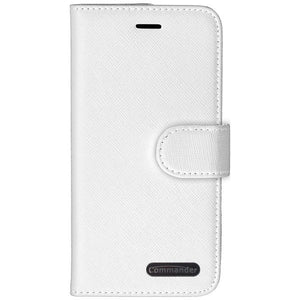 COMMANDER BOOK CASE ELITE für Samsung Galaxy A71 in Cross White