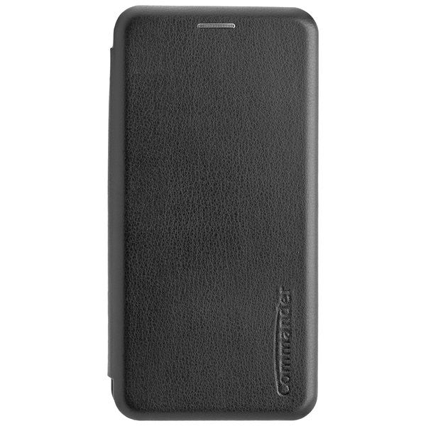 COMMANDER Book Case CURVE für Huawei Y5 2019 - Black