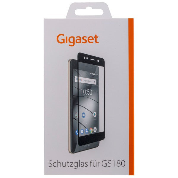 GIGASET FULL DISPLAY HD Glass Protector für Gigaset GS180 - Frame Black