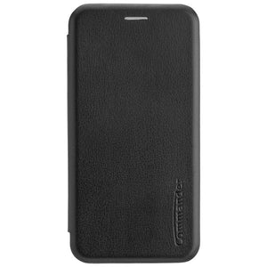COMMANDER Book Case CURVE für Xiaomi Redmi Note 10 - Black
