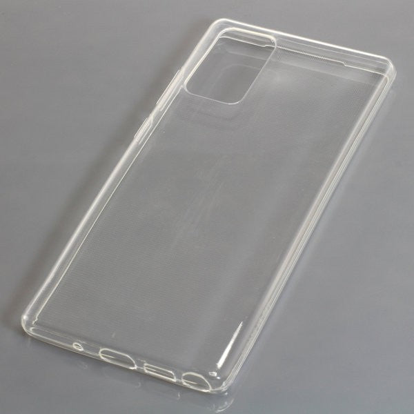 TPU Case kompatibel zu Samsung Galaxy Note 20 voll transparent