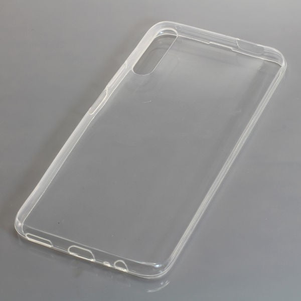 TPU Case kompatibel zu Huawei P Smart Pro voll transparent