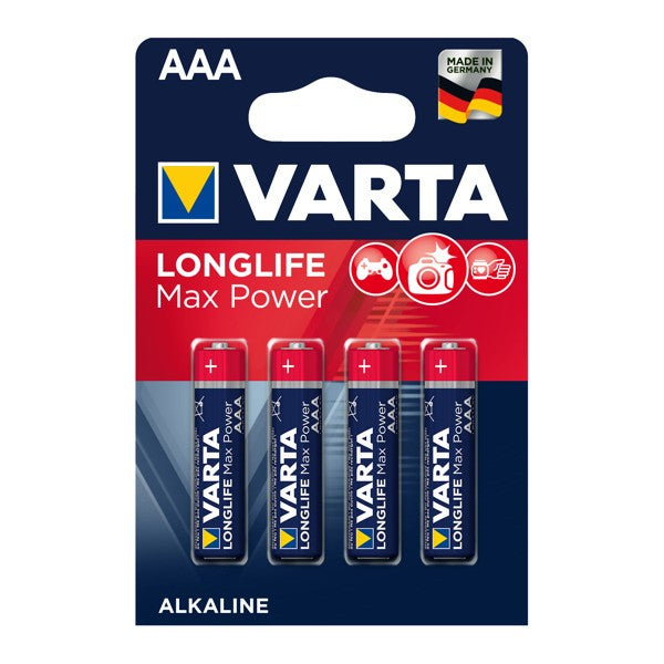Varta Batterie LONGLIFE Max Power AAA (LR03) 4703 - 4er Blister