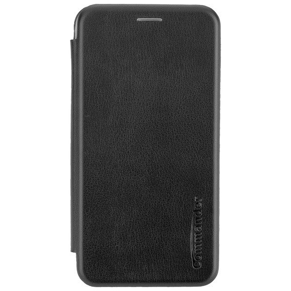 COMMANDER Book Case CURVE für Samsung Galaxy J4 (2018) - Black