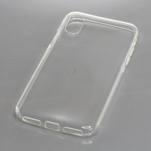 TPU Case kompatibel zu Apple iPhone X / XS voll transparent