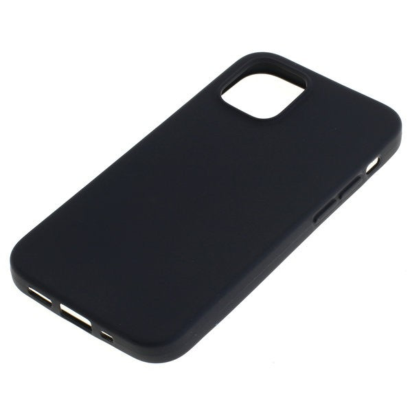 TPU Case kompatibel zu Apple iPhone 12 Mini schwarz