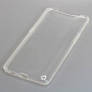 TPU Case kompatibel zu Samsung Galaxy A80 voll transparent