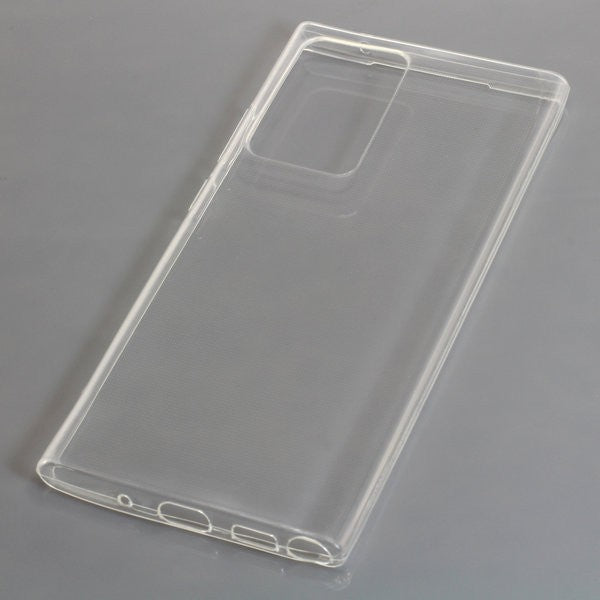 TPU Case kompatibel zu Samsung Galaxy Note 20 Ultra voll transparent