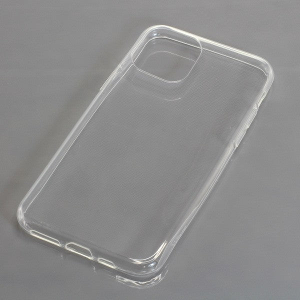 TPU Case kompatibel zu Apple iPhone 11 Pro voll transparent