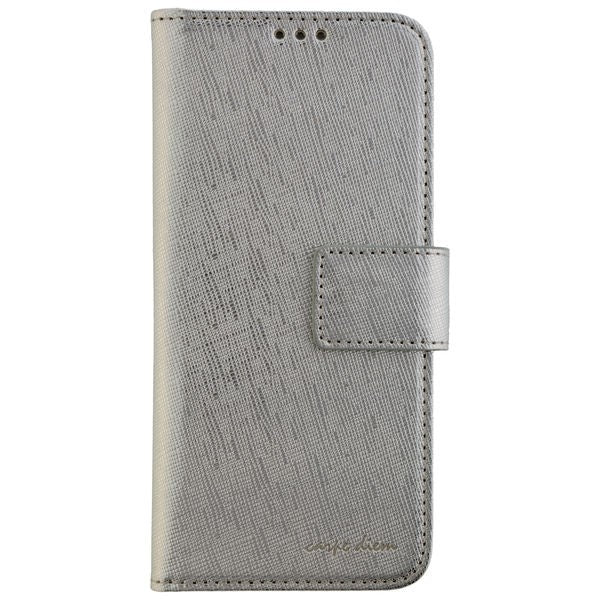 CARPE DIEM Book Case PARIS für Samsung Galaxy S8 - Silver