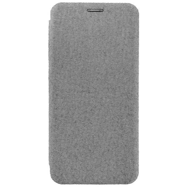 Commander Book Case CURVE für Samsung Galaxy A90 5G - Suit Elegant Gray
