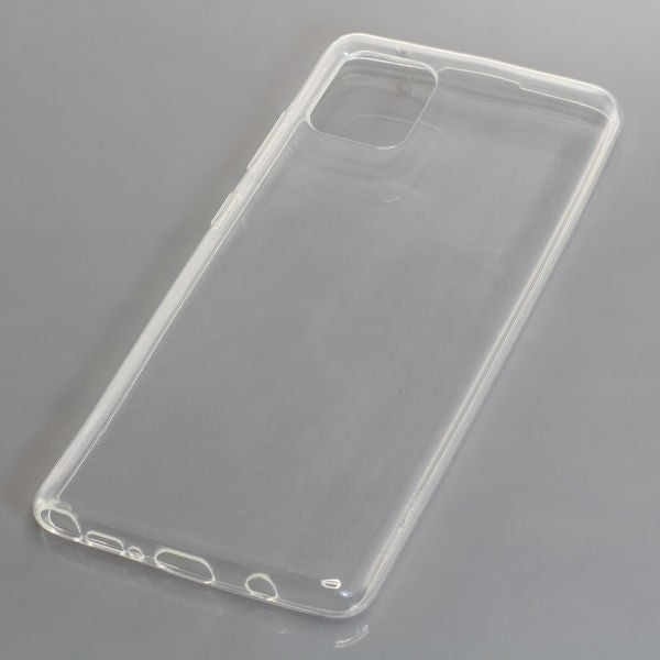 TPU Case kompatibel zu Samsung Galaxy Note 10 Lite voll transparent