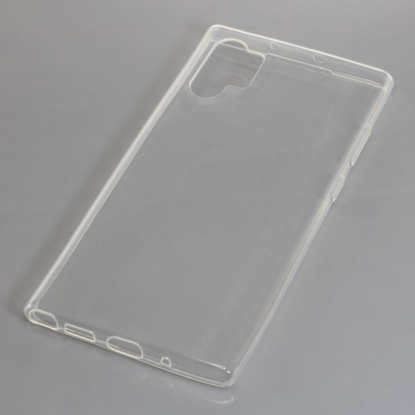 TPU Case kompatibel zu Samsung Galaxy Note 10 Plus voll transparent