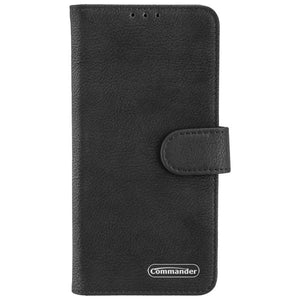 COMMANDER Book Case ELITE für Samsung Galaxy Note 10 - Black