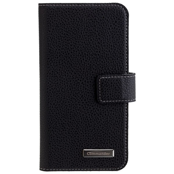COMMANDER BOOK CASE ELITE für Samsung Galaxy J3 (2017) - Black