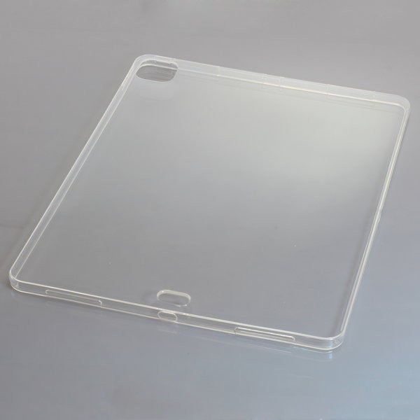 TPU Case kompatibel zu Apple iPad Pro 12.9 2020 voll transparent