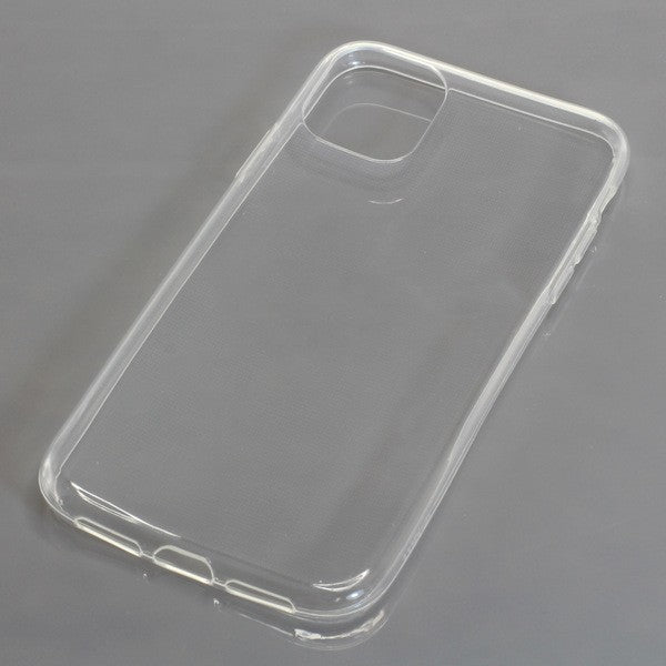 TPU Case kompatibel zu Apple iPhone 11 voll transparent