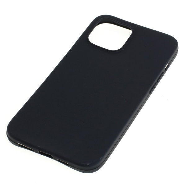 TPU Case kompatibel zu Apple iPhone 12 Pro Max schwarz