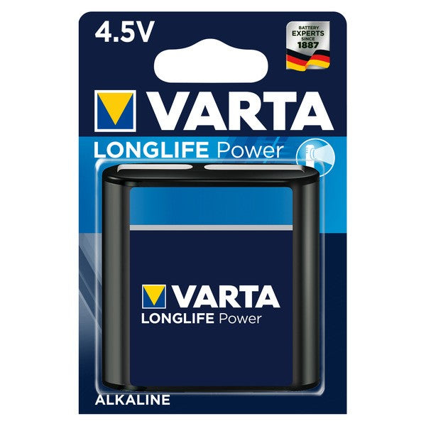 Varta Batterie Longlife Power 4.5V Flachbatterie 4912