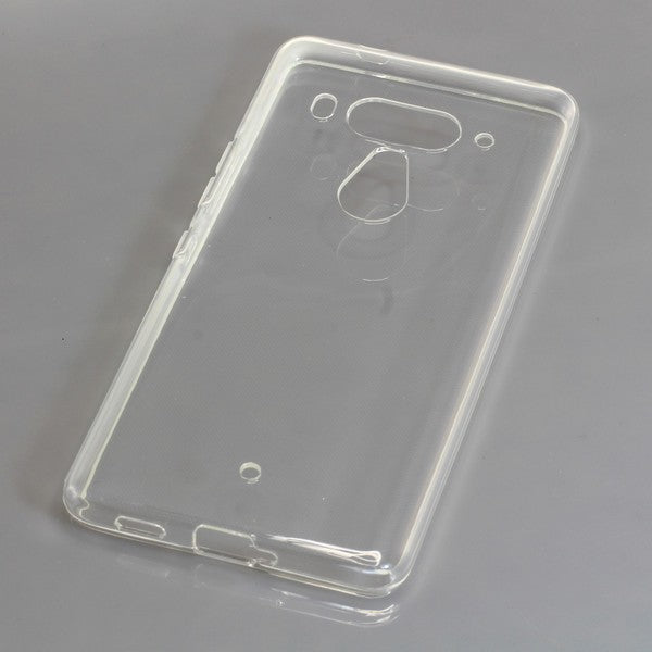TPU Case kompatibel zu HTC U12 Plus / U12+ voll transparent