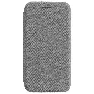 COMMANDER Book Case CURVE für Apple iPhone 11 Pro Max - Suit Elegant Gray