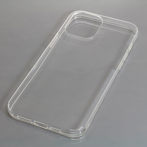 TPU Case kompatibel zu Apple iPhone 12 Pro Max voll transparent