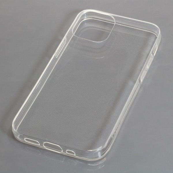 TPU Case kompatibel zu Apple iPhone 12 Mini voll transparent