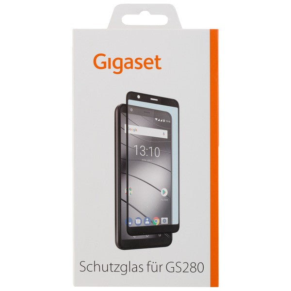 GIGASET FULL DISPLAY HD Glass Protector für Gigaset GS280 - Frame Black