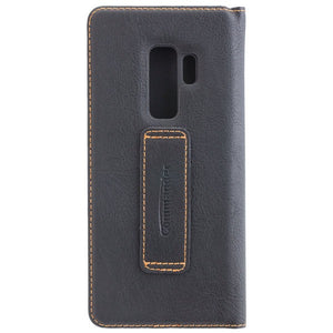 COMMANDER BOOK CASE für Samsung Galaxy S9+ - Gentle Black