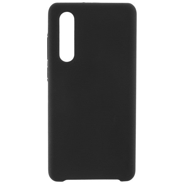 COMMANDER Back Cover Soft Touch für Huawei P30 - Black
