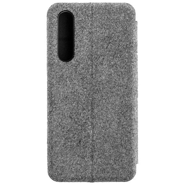 COMMANDER Book Case CURVE für Huawei P30 - Suit Elegant Gray