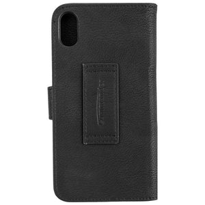COMMANDER BOOK CASE ELITE für Apple iPhone XR - Black