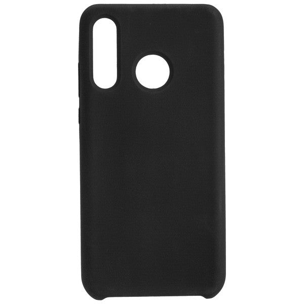 COMMANDER Back Cover Soft Touch für Huawei P30 Lite - Black