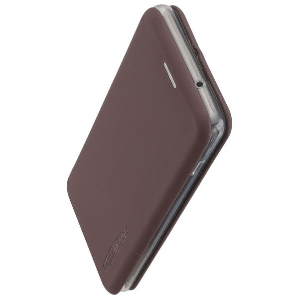 COMMANDER Book Case CURVE für Samsung Galaxy A71 - Soft Touch Bordeaux