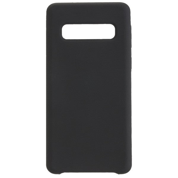 COMMANDER Back Cover Soft Touch für Samsung Galaxy S10 - Black